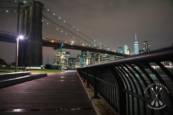 Follow the path to Manhattan