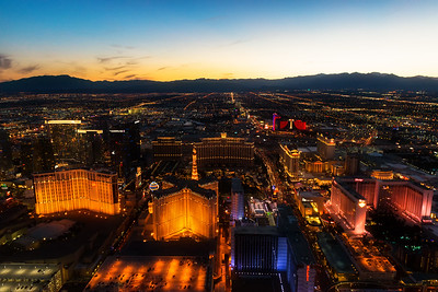 Las Vegas, NV at Sunset
