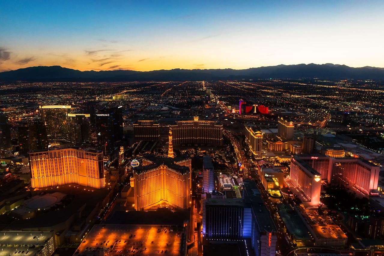 Las Vegas, NV at Sunset