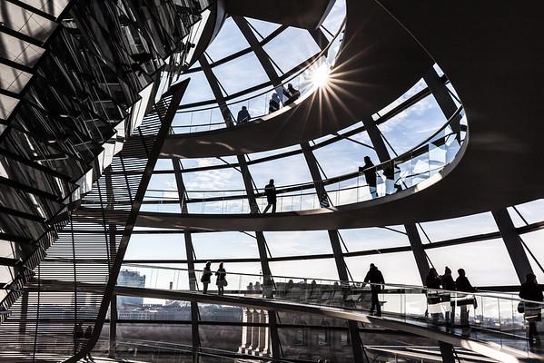 Reichstag Sunburst