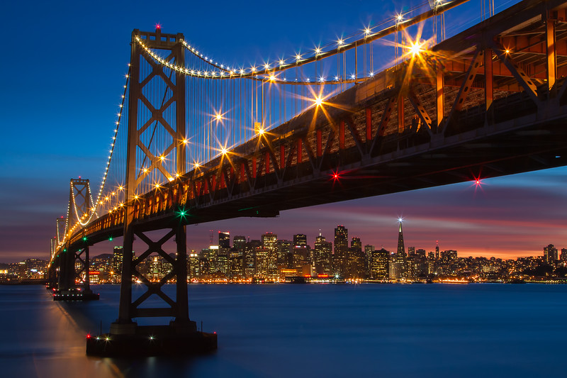 San Francisco Blue Hour