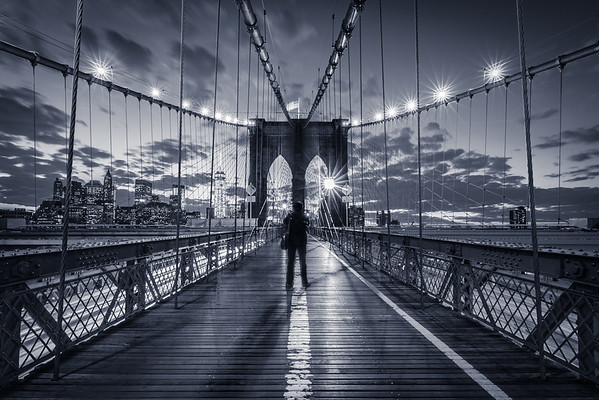 Brooklyn Bridge Noire