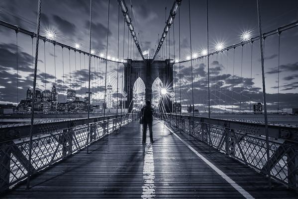 Brooklyn Bridge Noire