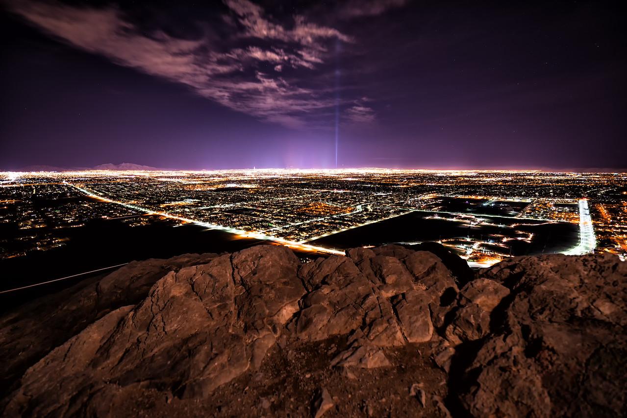 Las Vegas, NV, USA from Lone Mountain
