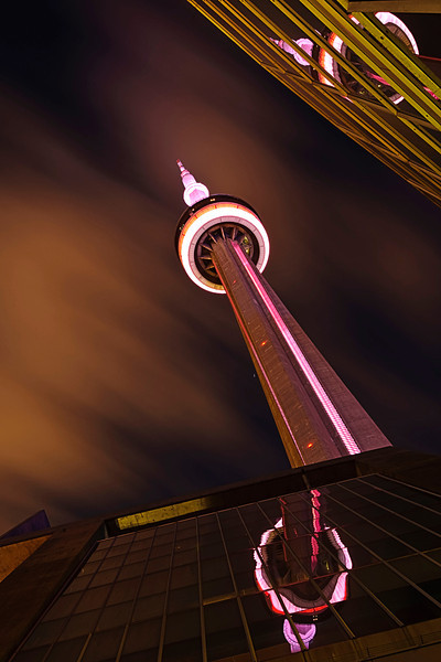 CN Tower - Toronto, ON<br /> <br /> 65 sec @ f16 - Nikkor 16-35