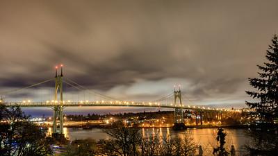St. John's Bridge - 3am