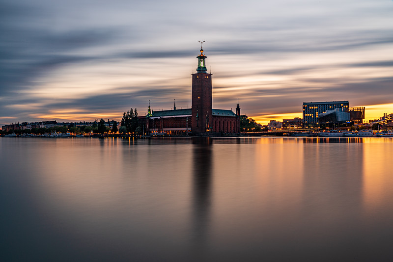 The City Hall Tower, Stockholm