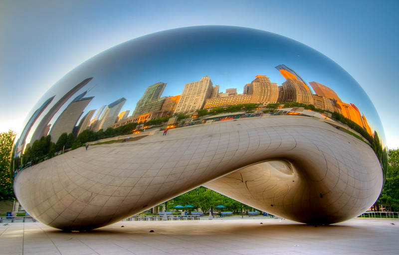 'The Bean' at Sunrise