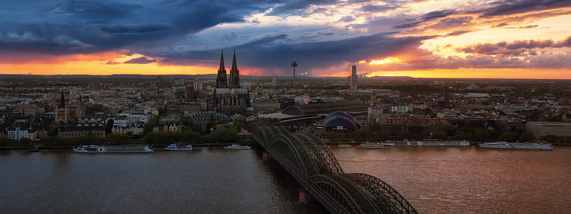 Stormy Cologne