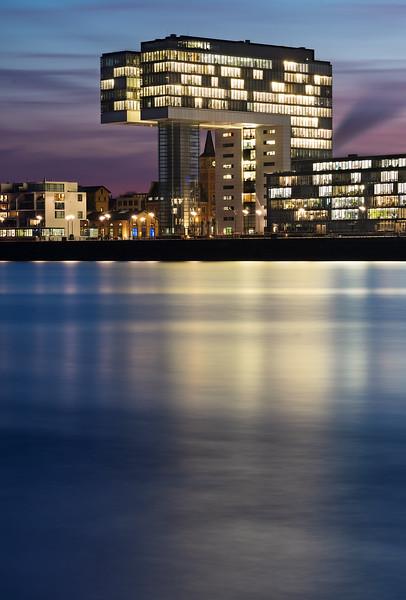 Kranhaus im Rheinauhafen, Köln