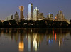 """Dallas Texas - Trinity River Sunset Reflection <BR><BR>Want to buy a print of this image?  Click <a href=""""http://www.langfordphotography.com/For-Sale/Cityscapes/295655_R5p5KF"""">Here</a>!"""