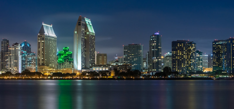 City of San Diego Skyline 2