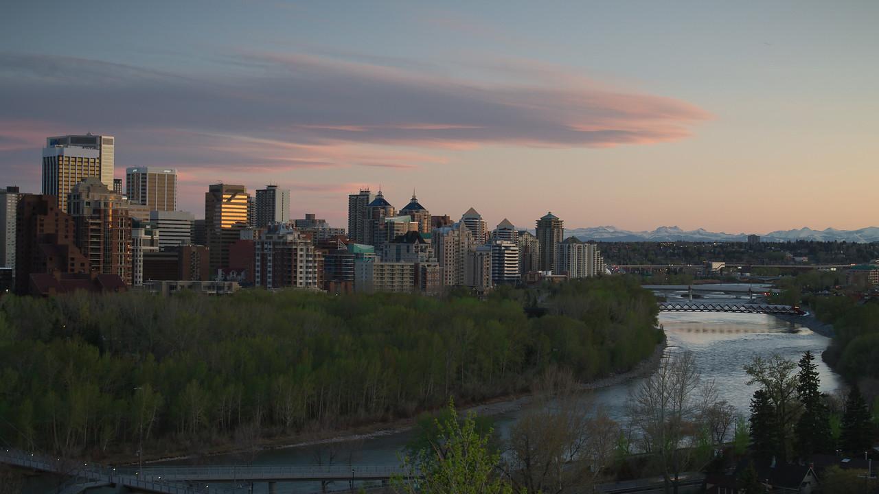 Calgary in May