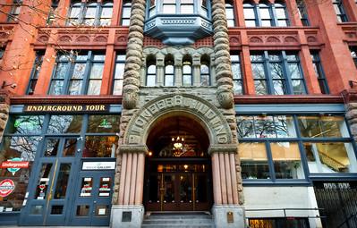 Pioneer Building, Seattle - Washington