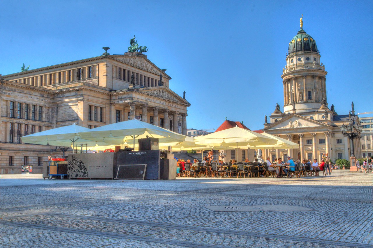 A Peaceful Afternoon In The Square