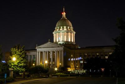 Oklahoma State Capitol building. Oklahoma City, OK.