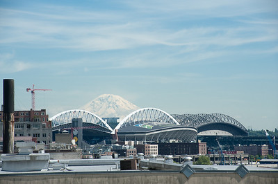 Mt. Rainier from Pike Place