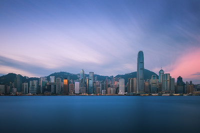 Dawn over Hong Kong