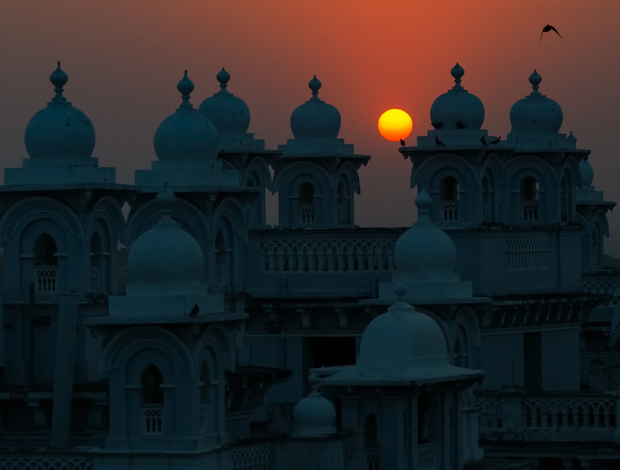 Sunset Over India