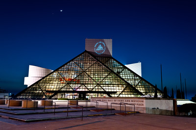 Rock Hall at Night