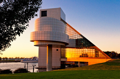 Rock Hall in Late Evening Light