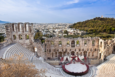 Theater, Athens Greece