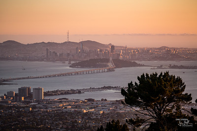 San Francisco from Grizzly Peak Boulevard