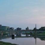 Dayton, Ohio Skyline Panorama