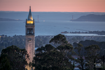 Berkely Campanile & Golden Gate Bridge