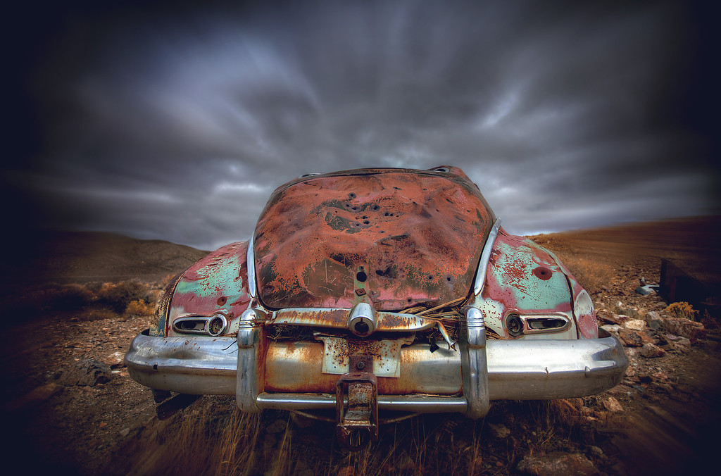 The Ghost Car Taxi Of Interdimensional Travel
