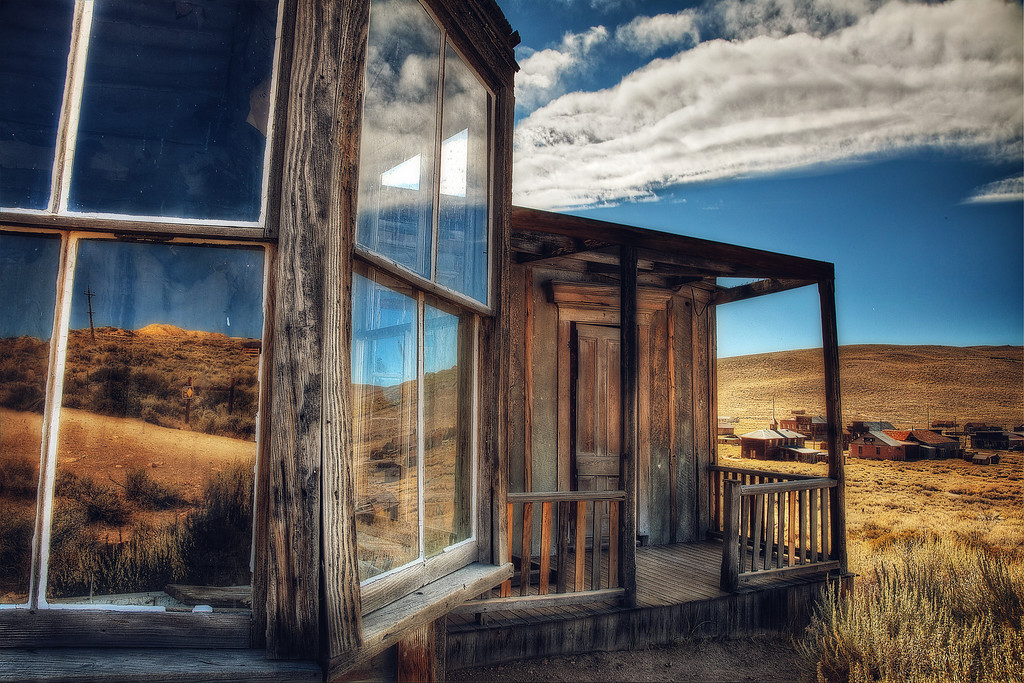 <h2>The Corner Room</h2>Bodie, CA  A page turned at the edge of her mind... The day she looked out the window And realized it was time to go.