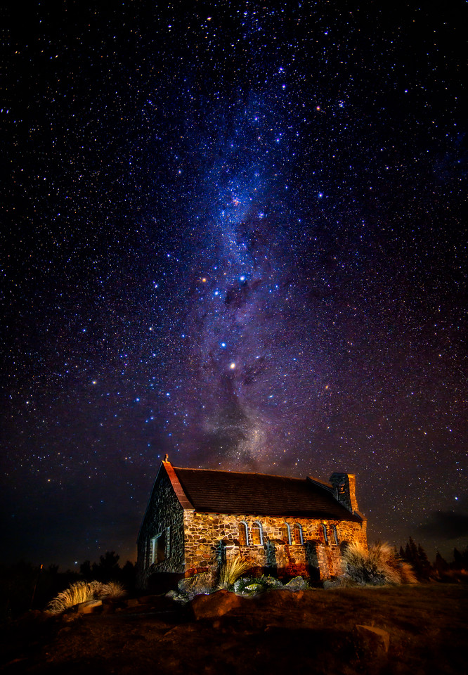 <h2>Imagine</h2>Lake Tekapo, New Zealand  Everytime she used her imagination to focus upon what her heart desired most, it seemed that all the forces in the Universe moved in unexpected and delightful ways to make it so. She made it a point to do it often.