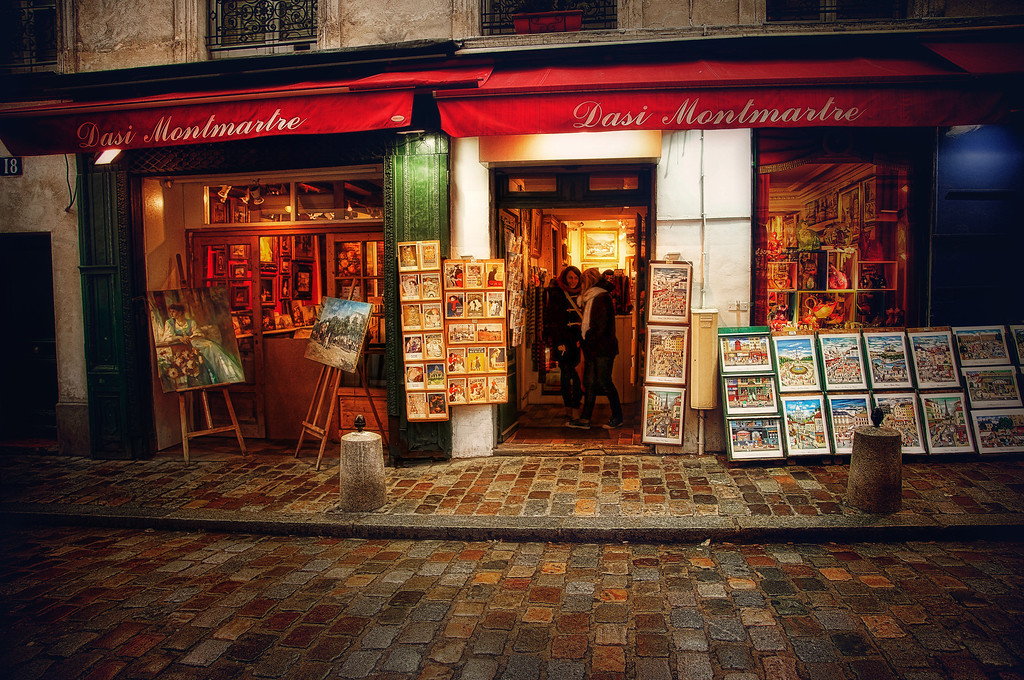 This Montmartre Moment Brought To You By