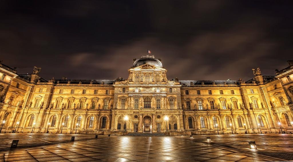 The Louvre; Pavillion Sully