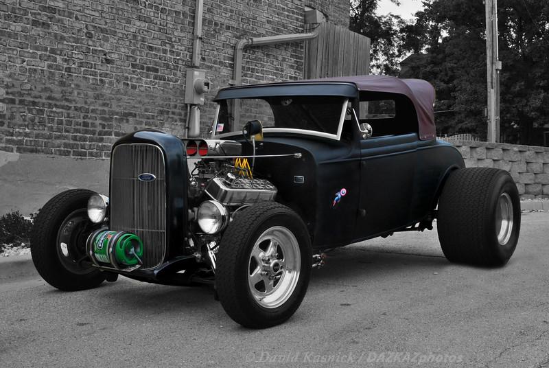Ford Street Rod Black
