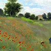 Poppy Field (Argenteuil) (1873) Claude Monet