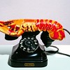 Lobster phone by Salvador Dali