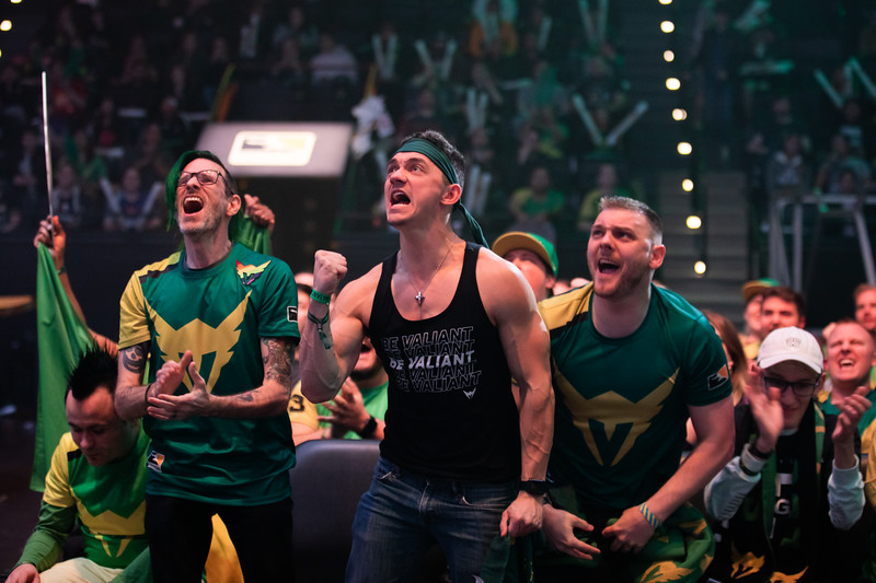 Los Angeles Valiant fans