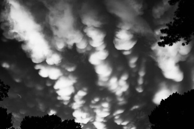 Mammatus Clouds. Tucker, GA