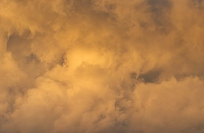 Golden Hour Clouds