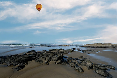 Hot Air On The Beach
