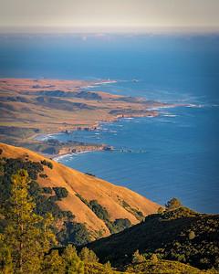 California Coast from Silver Peak