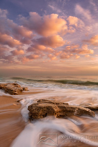 """OCEAN DREAMS""Atlantic Coast, FloridaBeautiful soft light and incoming tide at sunrise on a unique stretch of Florida's Atlantic coast.© Chris Moore - Exploring Light PhotographyPURCHASE A PRINT"