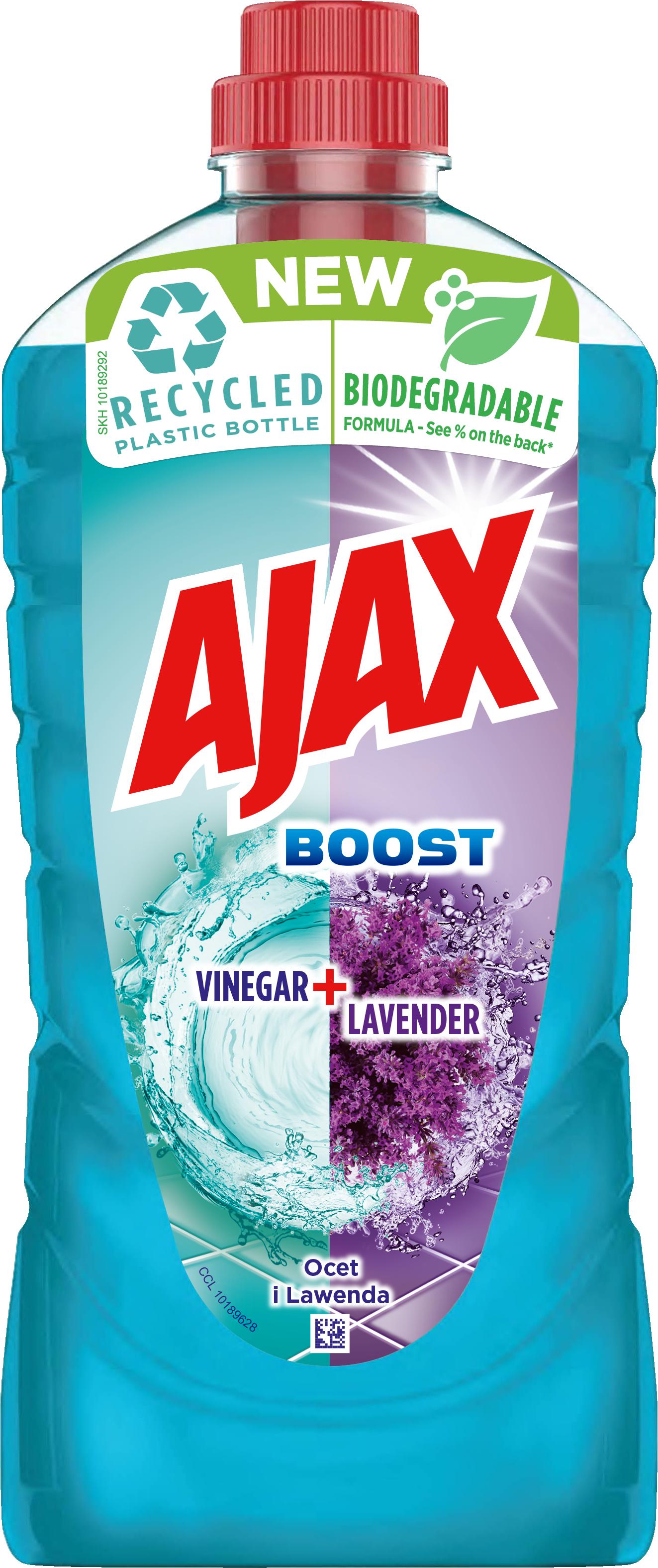 6004299AJAX üldpuhastusvahend Boost Vinegar & Lavender 1l12*1000ml8718951190221