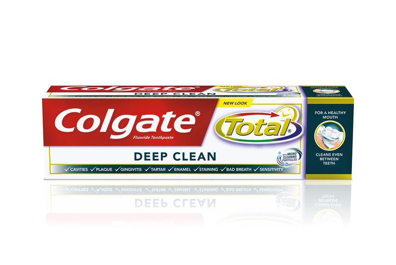 613899COLGATE hambapasta Total Deep Clean 75ml12*75ml8718951071322