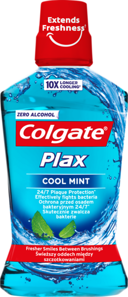 606999	COLGATE suuvesi Cool Mint (sinine) 500ml	12*500ml	8714789732671