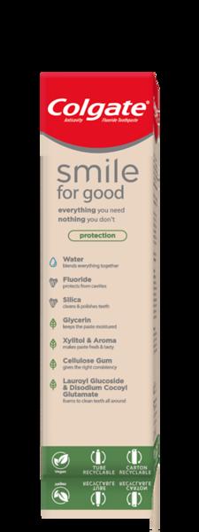 6017699COLGATE hambapasta Smile for Good Base 75ml12*75ml8718951311428
