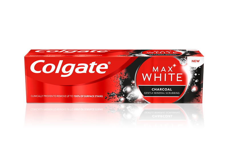 6010299PL07689A 8718951250017Colgate TP Max White Charcoal 75ml