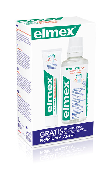 6802899	PL03994A	8714789994208	ELMEX MR+TP Sensitive 400ml + 75ml
