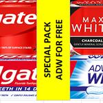 6018699COLGATE komplekt hambapasta Max White Charcoal 75ml + Advanced White 75ml12*(2*75ml)4751016300344